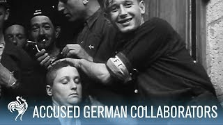 Download French Women Accused of Collaborating with Germans Punished | War Archives Video