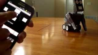 Download Simple Arduino Robot Controlled by Android Video