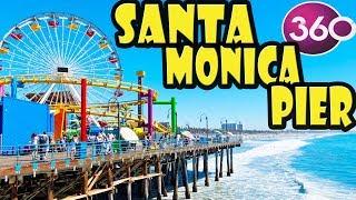 Download Santa Monica Pier 360 Video Walking Tour Video