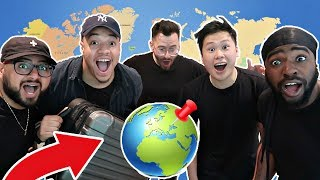 Download SPIN THE GLOBE AND GO CHALLENGE!!! (TRAVEL WHEREVER IT LANDS) Video