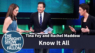 Download Know It All with Tina Fey and Rachel Maddow Video