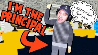 Download I GET TO PLAY AS THE PRINCIPAL NOW! (Detention For You....) | Baldi's Basics Roblox Roleplay Video