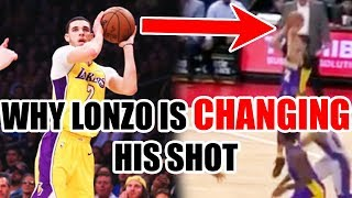 Download Why Lonzo Ball Is CHANGING His Shot In The NBA Video
