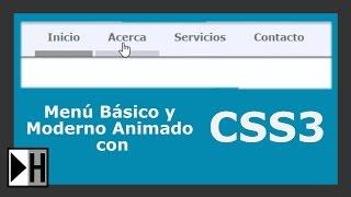 Download Como hacer un Menú Basico y Moderno con HTML5 y CSS3 Video