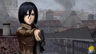 Download Attack on Titan: Wings of Freedom - Mikasa Ackerman Gameplay【FULL HD】 Video