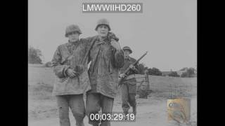 Download ADVANCE AND CAPTURE OF CAEN, FILM ON CAEN FROM JULY 6 TO JULY 9, 1944, 21ST PANZER DIV - LMWWIIHD260 Video