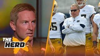 Download Joel Klatt talks Notre Dame coaching, Top 25 Poll and 2017's best college QBs   THE HERD Video