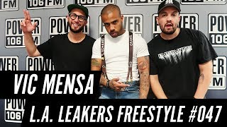 Download Vic Mensa Freestyle w/ The L.A. Leakers - Freestyle #047 Video