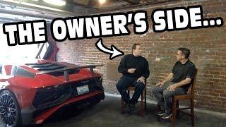 Download Owner Fills In Missing Details On Guy Walking Over Lamborghini Video