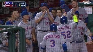 Download Cespedes' two-run shot puts Mets in front Video