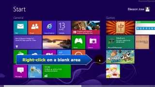 Download Windows 8 - Two ways to open microsoft paint Video