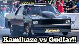 Download Kamikaze Chris Turbo El Camino vs Gudfar at Armageddon No Prep Video