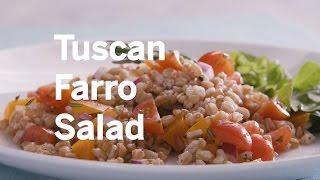 Download Tuscan Farro Salad Video