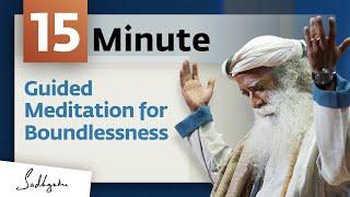Download Infinity Guided Meditation From Sadhguru - 13 mins Video