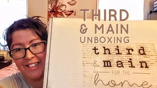 Download Third & Main Home Decor Subscription Unboxing   June 2017 Video