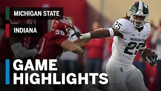 Download Highlights: Michigan State Spartans at Indiana Hoosiers | Big Ten Football Video