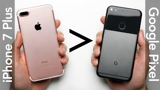 Download 25 Reasons Why iPhone 7 Plus Is Better Than Google Pixel XL Video