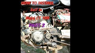 Download How to install self in Bajaj CT 100 (part 2) Video