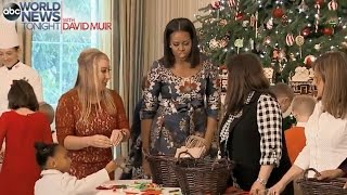 Download Michelle Obama Welcomes Military Families to White House Video