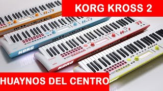 Download KORG KROSS 2 HUAYNO DEL CENTRO ✔🎶👍 Video