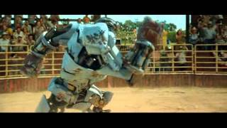 Download real steel - Ambush vs Black Thunder (poor robot defeated by a bull) Video