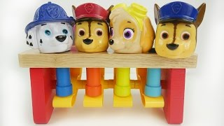 Download Peg pouding bench with paw patrol Video