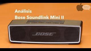 Download Unboxing y análisis Bose Soundlink Mini II Video