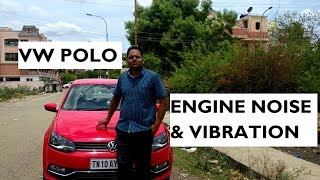 Download Engine Noise and Vibration in Volkswagen Polo Video