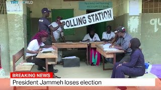 Download Gambia Elections: President Jammeh loses election Video