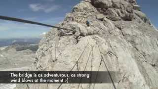 Download ″Koppenkarstein″ via ferrata (HD), Dachstein, Austria Video