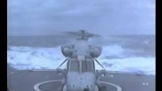 Download Seasprite helicopter heavy landing Video