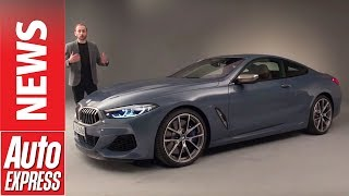 Download New BMW 8 Series revealed: Can the big GT target the S-Class Coupe AND the 911? Video