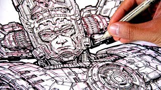 Download The most DETAILED DRAWING EVER (I think) of GALACTUS! Video
