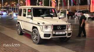 Download Sheikh Mohammed Bin Rashid Al Maktoum - G63 AMG Mercedes No.1 (سيارة حاكم دبي أثناء ذهابه إلى المول) Video