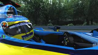 Download Asseto Corsa Renault R26 on Spa Francorchamps Video