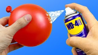 Download 20 Awesome Tricks with WD-40 Video