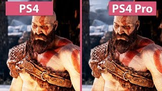 Download [4K] God of War – PS4 vs. PS4 Pro Frame Rate Test & Graphics Comparison Video