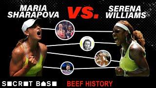 Download The Serena vs Sharapova beef involves boyfriend rumors, odd book quotes, and a very lopsided rivalry Video