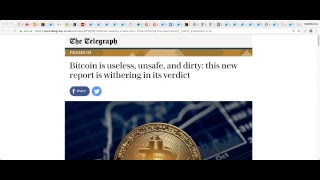 Download New FUD: ″Bitcoin is useless, unsafe, and dirty″ Bitcoin Talk Show #LIVE (Skype WorldCryptoNetwork) Video