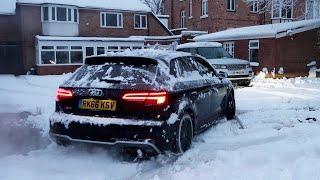 Download My AUDI S3 vs SNOW! *Got Stuck* Video