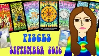 Download PISCES SEPTEMBER 2016 Tarot psychic reading forecast predictions free Video
