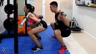 Download Nữ SQUAT SAI - Chuyện Bình Thường ????? - HLV Ryan Long Fitness Video