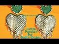 Download How to make Paper earrings for Ladoo Gopal/Kanha ji/Yugal Jodi, thakurji, bal gopal, god, ladoo, maa Video