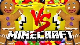 Download Minecraft: VENDING LUCKY BLOCK CHALLENGE | Shrek Gingerbread Man! Video