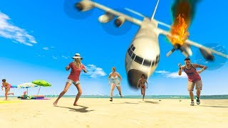 Download Emergency Landing Goes Wrong! (GTA RP) Video