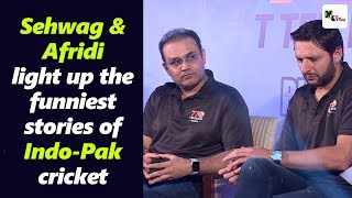 Download Super entertaining! Sehwag and Afridi light up the funniest stories of Indo-Pak cricket Video