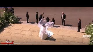 Download THE ARRIVAL: Meghan Markle Enters St. George's Chapel - Royal Wedding (FNN) Video