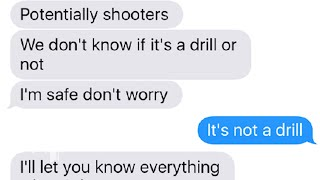 Download As the Parkland students hid from the shooter these are the text messages they sent Video