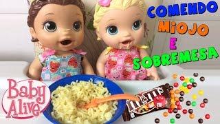 Download BABY ALIVE COME MIOJO DE VERDADE E FAZ COCÔ Video