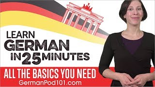 Download Learn German in 25 Minutes - ALL the Basics You Need Video